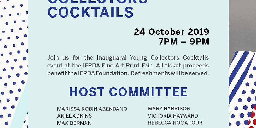 IFPDA Young Collectors Cocktails x ArtTable MeetAT