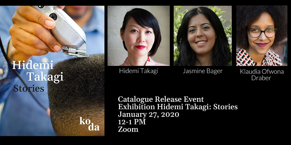 Catalogue Release Event for Exhibition Hidemi Takagi: Stories