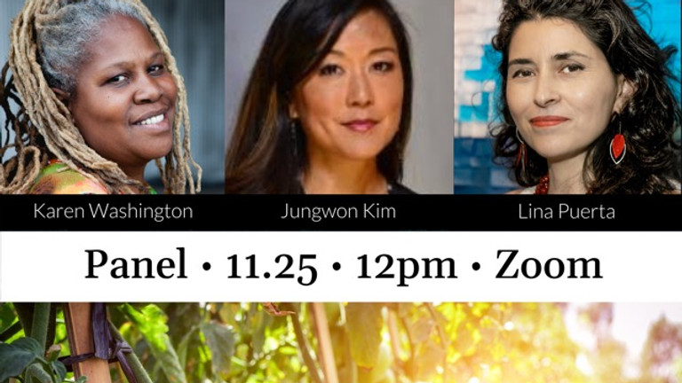 Panel: Food Justice and Diverse Farming Ecosystem (English + Spanish)