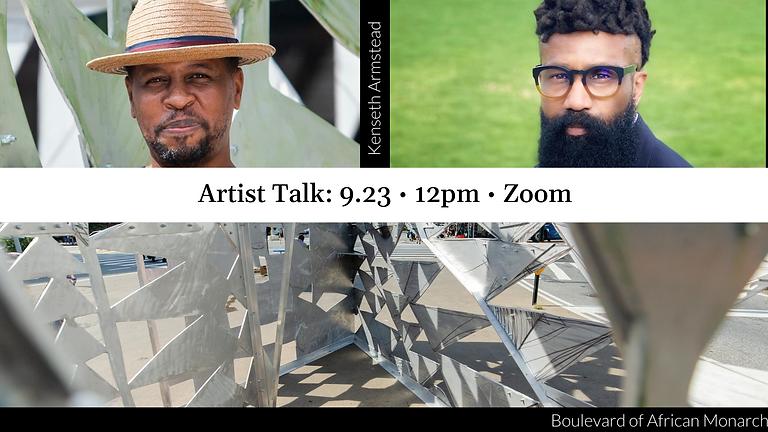 Artist Talk: Kenseth Armstead