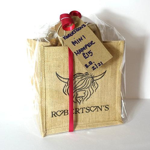 Mini Hamper filled Bag - Natural