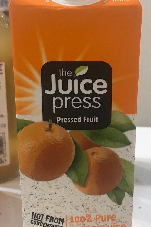 The Juice Press 100% pure orange juice
