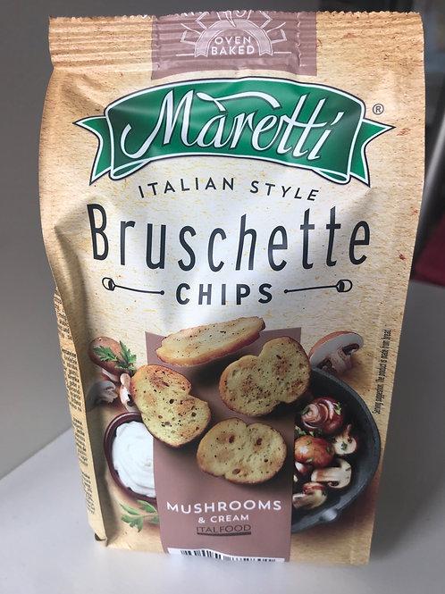 Bruschetta Chips  Mushroom and Cream 70 g