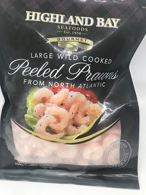 Peeled and Cooked Prawns