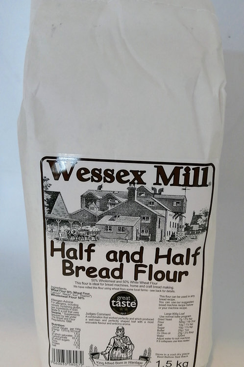 Wessex Mill Half and half bread flour