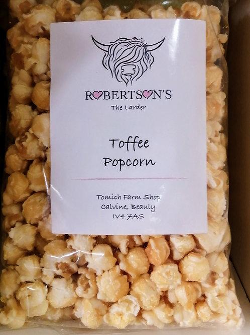 Toffe popcorn
