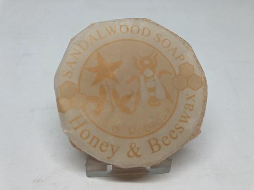 Honey & Beeswax Sandalwood Soap - 75g