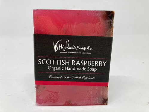 Scottish Raspberry Organic Handmade Soap