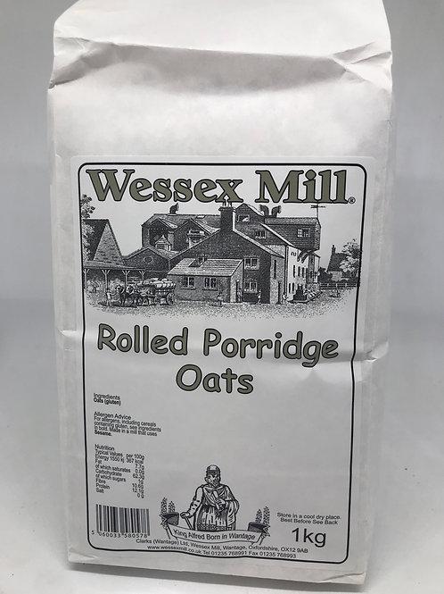 Rolled porridge oats 1 kg bag