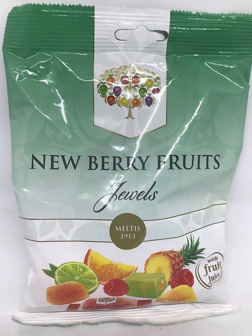 New Berry Fruits Jewels 160g