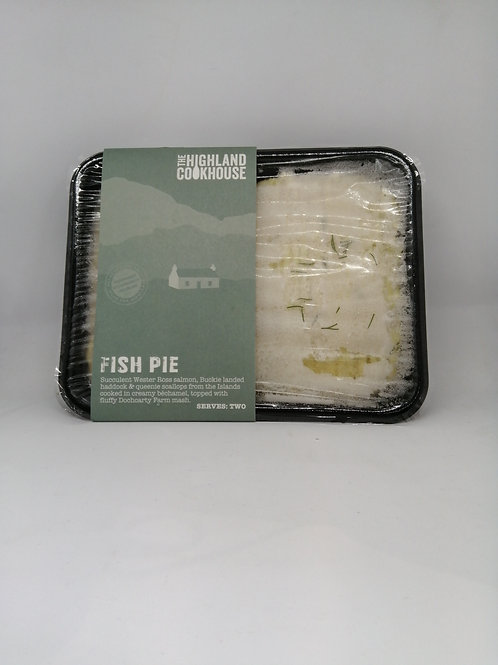 Highland Cookhouse Fish Pie (serves two)