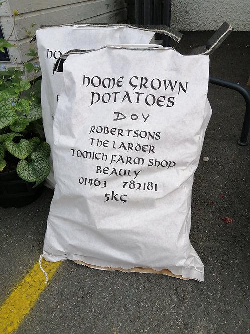 Duke of York potatoes 5kg