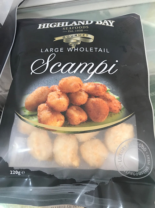 Large Wholetail Scampi