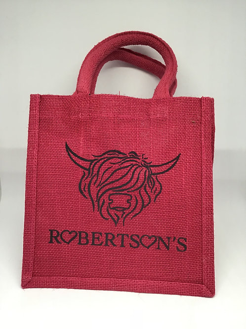 Small Pink Robertsons Bag