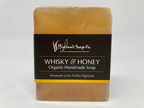 Whiskey & Honey Organic Handmade Soap