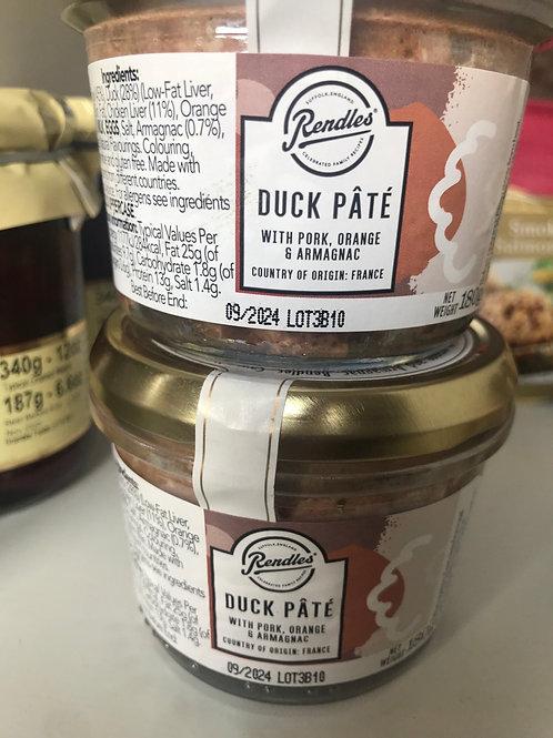 Duck Pâte - with pork orange and armagnac