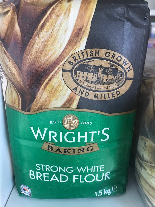 Wrights Strong White Bread Flour