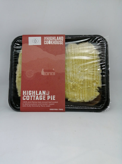 Highland Cookhouse Cottage pie (serves two)