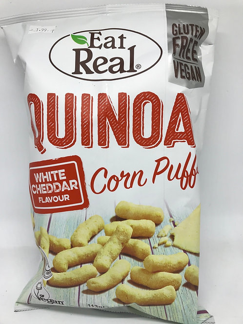Quinoa Corn puffs White chedder