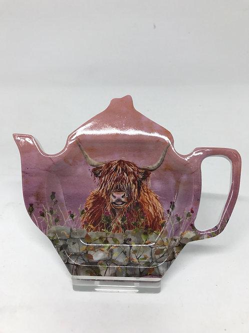 Highland Cow Teabag Holder