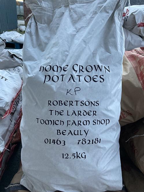 Homegrown Kerrs Pink Potatoes - 12.5kg