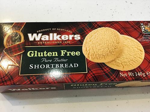 Walker's Gluten-Free Shortbread 140g