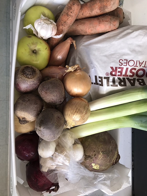 Veg Box  With  5kg Potatoes