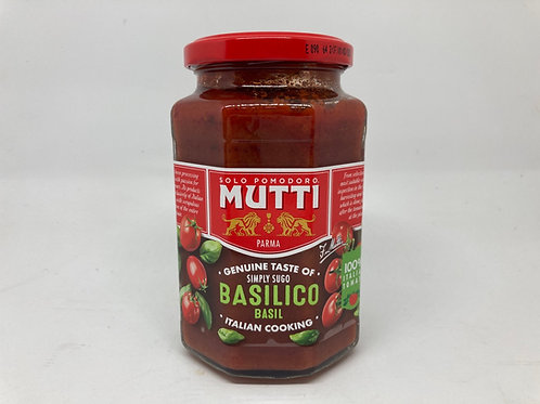 Mutti Pasta Sauce with Basilico Basil