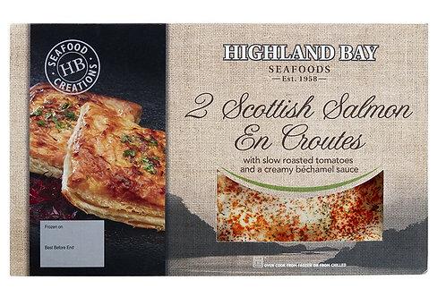 2 Scottish Salmon En Croutes
