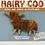 Thumbnail: Hairy Coo Handmade Brooch