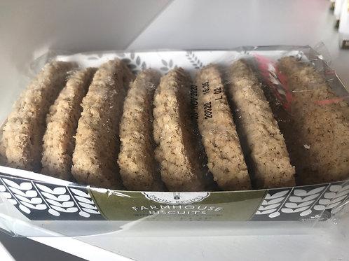 Chocolate Oat Flip Biscuits