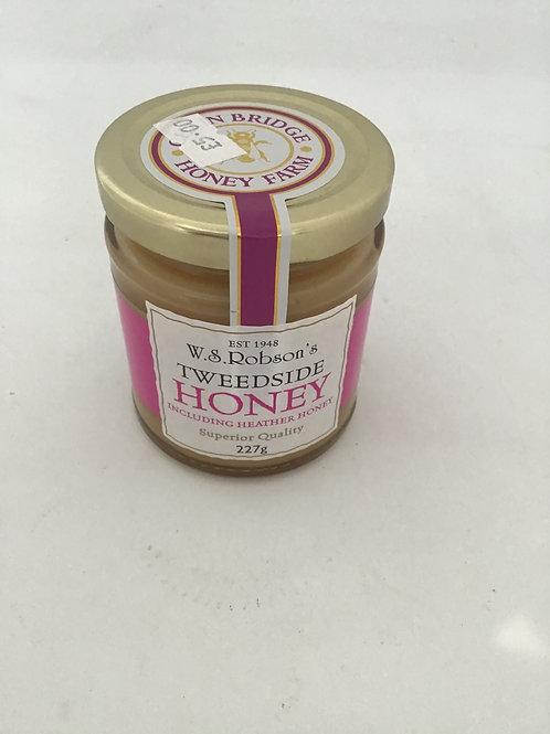 Robsons Tweedside honey including Heather honey 227g