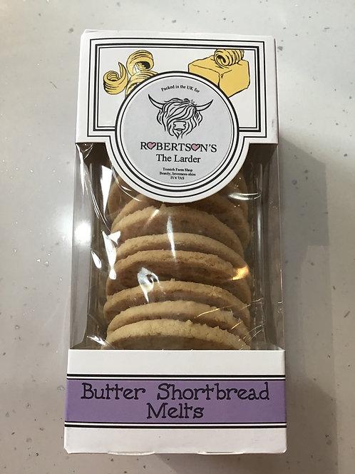 Butter shortbread melts