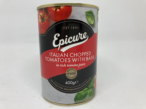 Epicure Italian Chopped Tomatoes with Basil