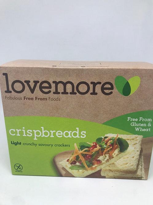 Lovemore  Freefrom Gluten and Wheat Crispbread