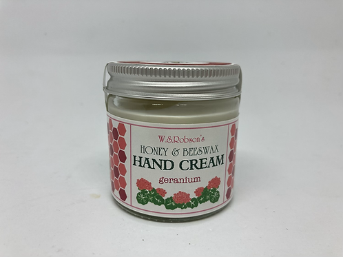Honey & Beeswax Geranium Hand Cream