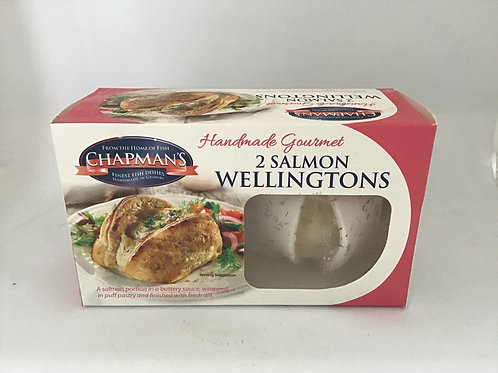 2 Salmon Wellingtons