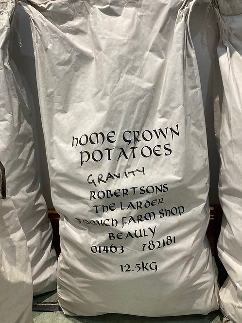 Homegrown Gravity Potatoes - 12.5kg