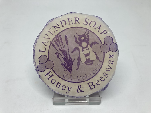 Honey & Beeswax Lavander Soap - 75g