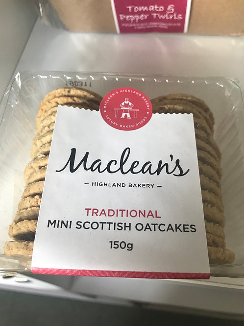 McLeans Mini Scottish Oatcakes 150 g
