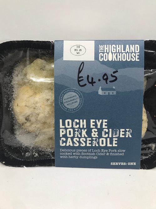 loch Eye Pork and Cider Casserole