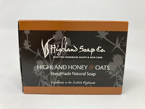 Highland Honey & Oats Handmade Natural Soap