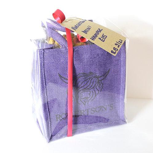 Mini Hamper filled Bag - Violet