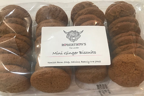 Mini Ginger Biscuits 250 g