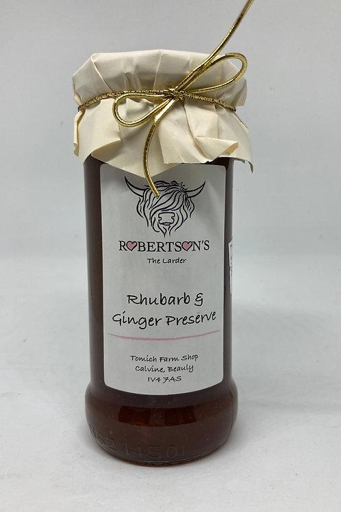 Rhubarb & Ginger Preserve - 454g