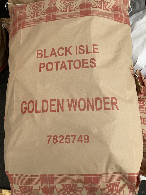 Homegrown Golden Wonder Potatoes - 25kg