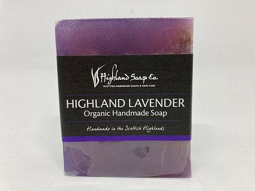 Highland Lavender Organic Handmade Soap