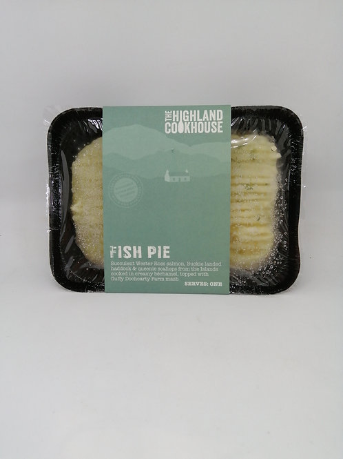 Highland Cookhouse Fish Pie (serves one)
