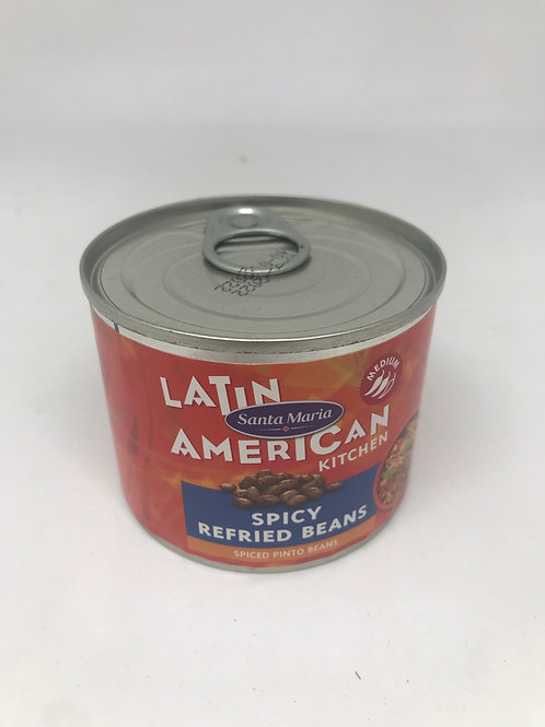 Spicy refried beans 215 g