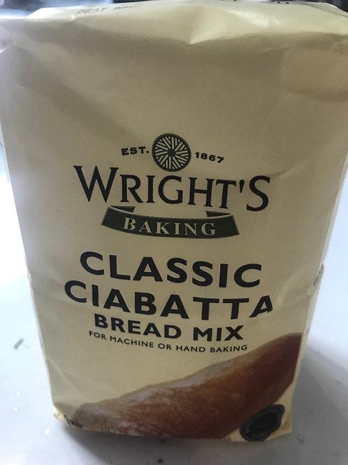Wrights Classic Ciabatta bread mix